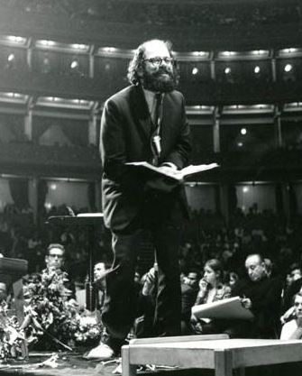 Authors. Writers. Literature. Poem. Allen Ginsberg