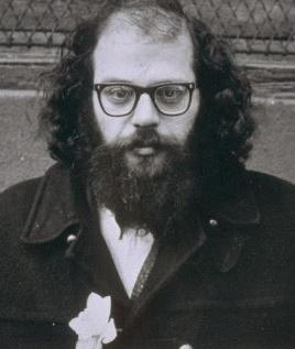 Authors. Writers. Literature. Poem. Allen Ginsberg.